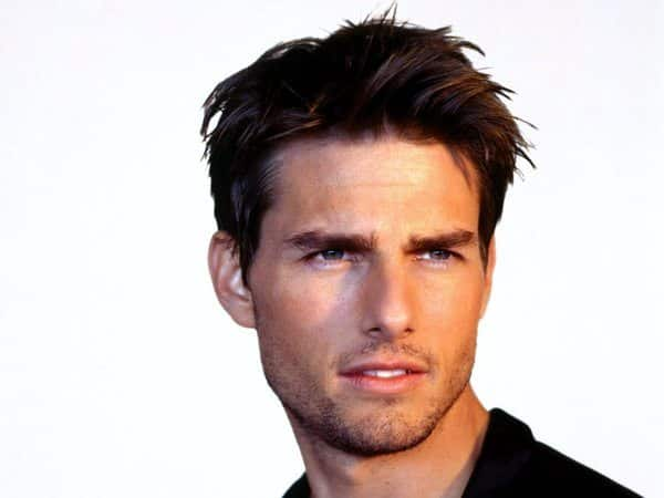 Tom Cruise Spiky Short Hair