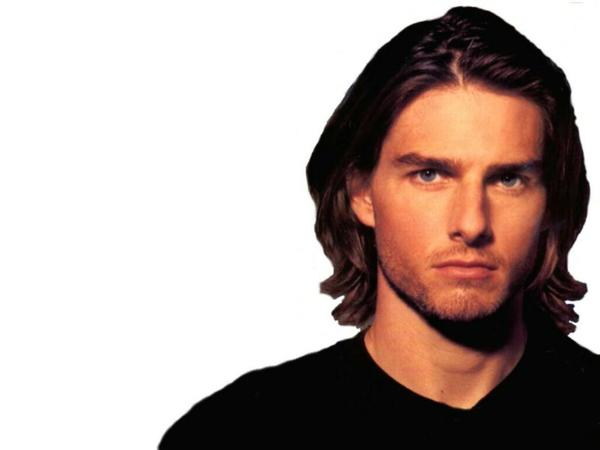 Tom Cruise Long Wavy Hair