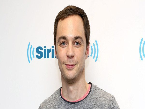 Jim Parsons Short Hair with Side Parted Bangs