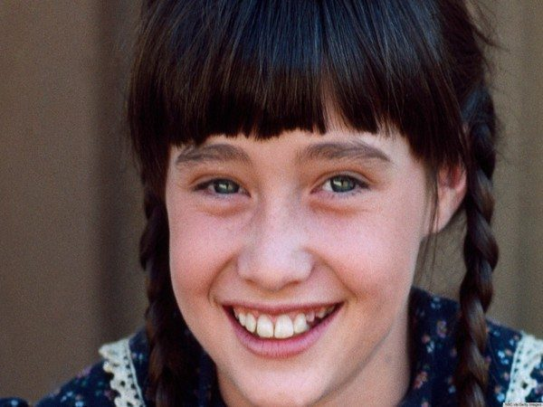 Young Shannen Doherty with Braids