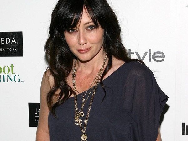 Shannen Doherty Long Curly Hair