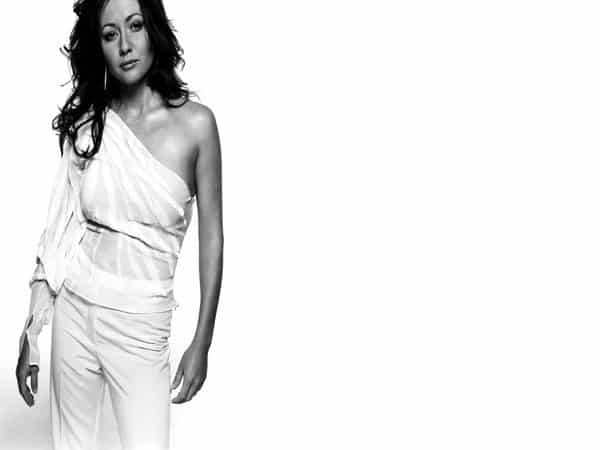 Shannen Doherty Shoulder Length Curly Hair