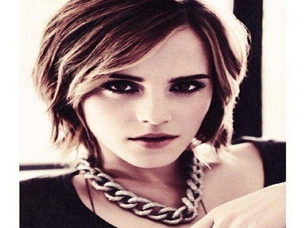 13 excellent emma watson hairstyles emma watson short messy hair urmus Image collections