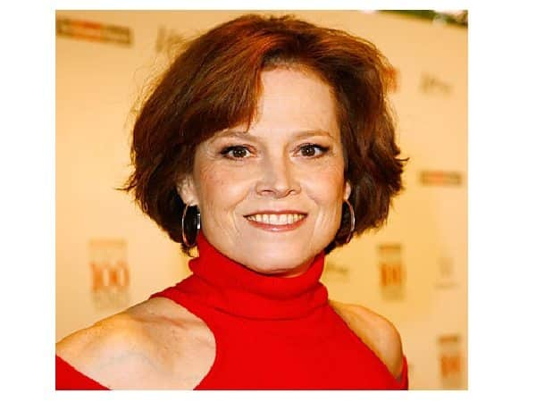 Sigourney Weaver Short Red Hair