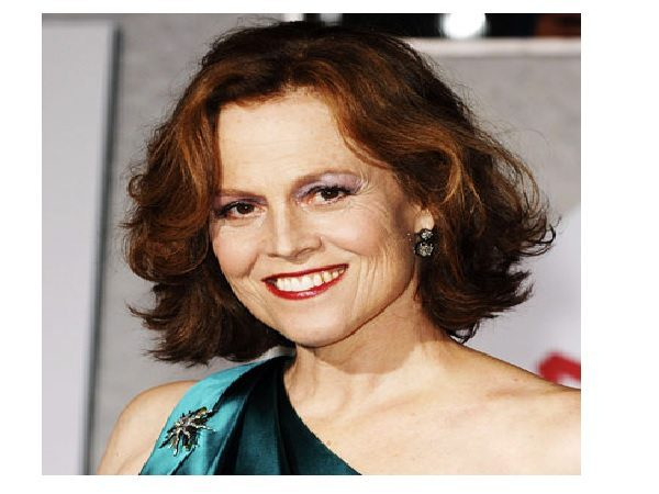 Sigourney Weaver Short Layered Light Brown Hair