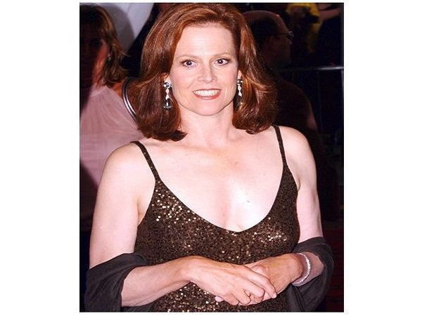 Sigourney Weaver Shoulder Length Red Hair