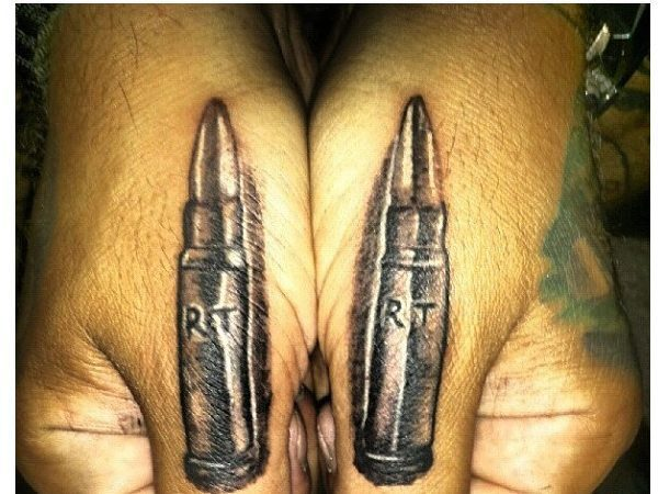14 Awesome Bullet Tattoo Designs Bullet Band Tattoo
