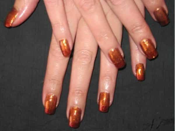Copper Nails with Bronze Tips