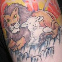 10 Lovely Lamb Tattoo Pictures