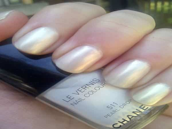 Classic Mother of Pearl Nails