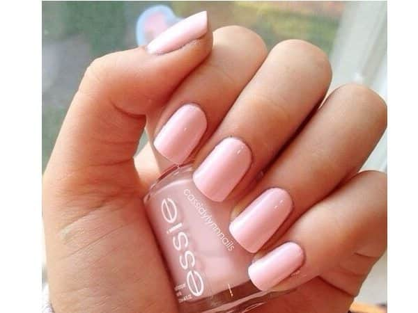 14 pretty pink pastel nail designs blush pink pastel nails prinsesfo Image collections