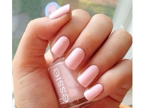 Cotton Candy Pink Pastel Nails