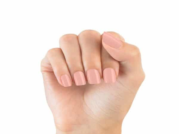 Pink Pastel Nude Nails