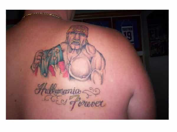 Hulkamania Forever Tattoo