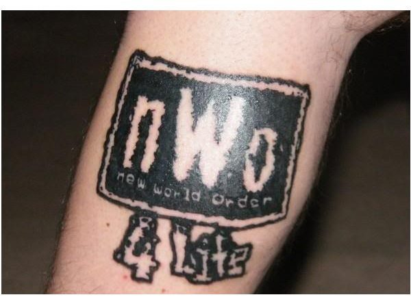 NWO For Life Tattoo