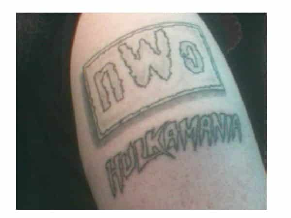 The NWO and Hulkamania Tattoos