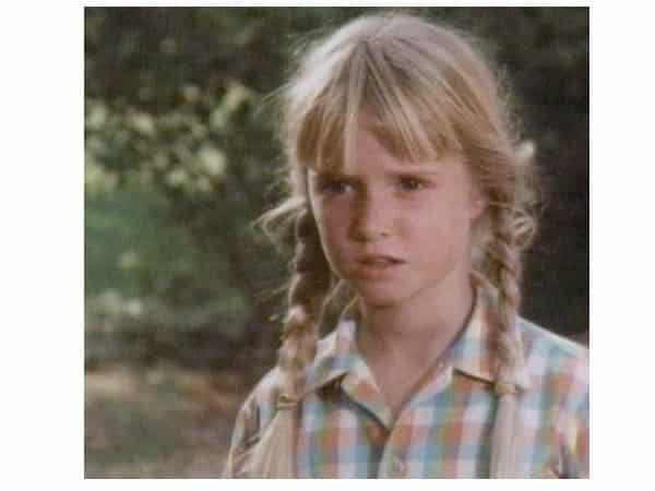 Young Kim Richards with Long Blond BraidsYoung Kim Richards