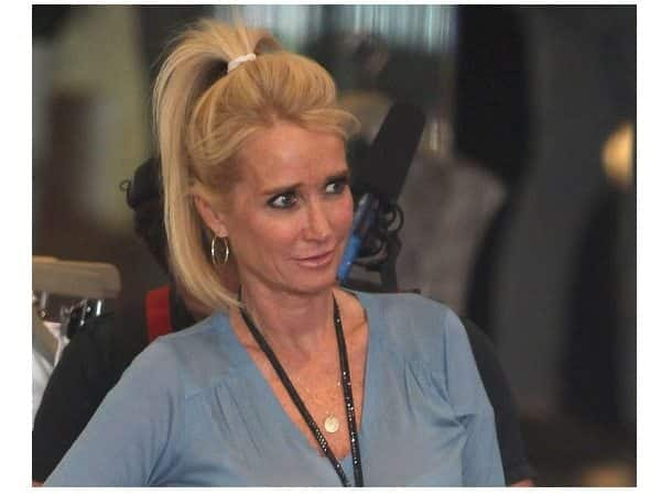 Kim Richards High Pony Tail Hairstyle