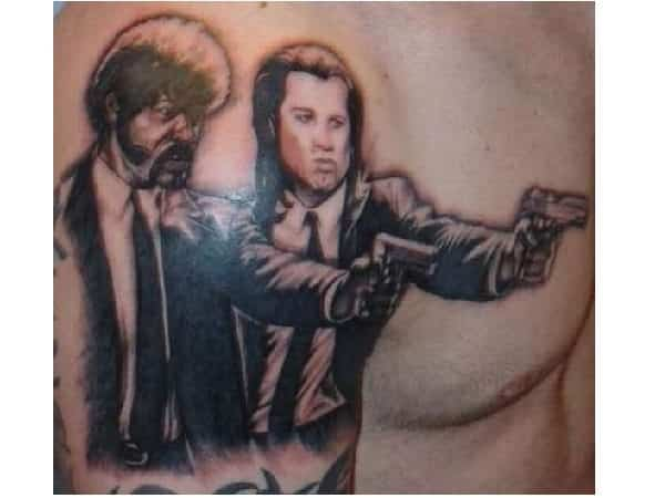 Pulp Fiction Vincent and Jules Tattoo