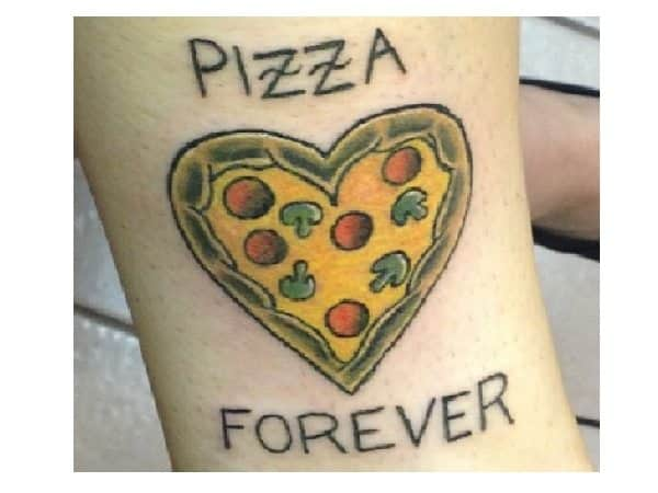 Pizza Forever Tattoo
