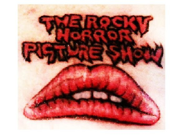 The Rocky Horror Picture Show Lips Tattoo