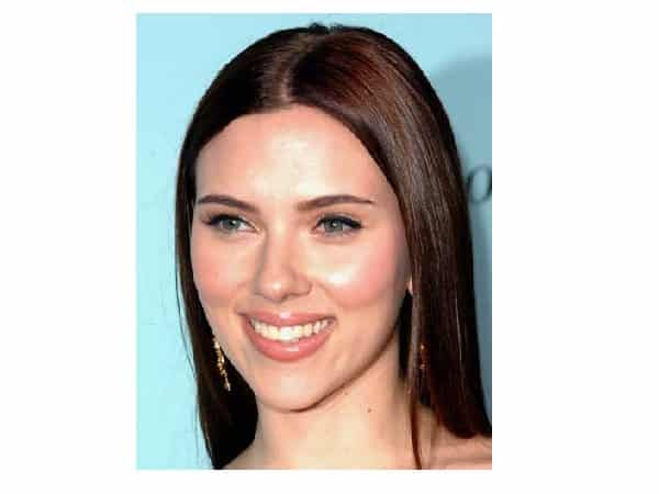 Scarlett Johansson Long Straight Brown Hair