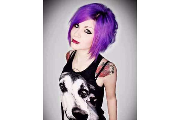 Purple Hair 7