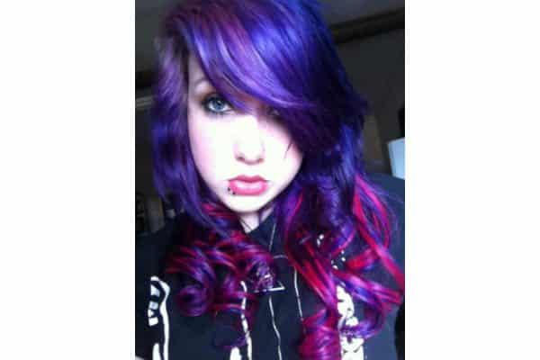 Purple hair 3