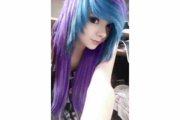 Purple hair 4