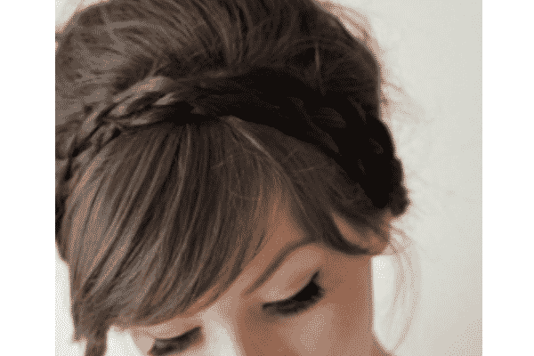 braided wedding hairstyles 10 headbangs with bangs