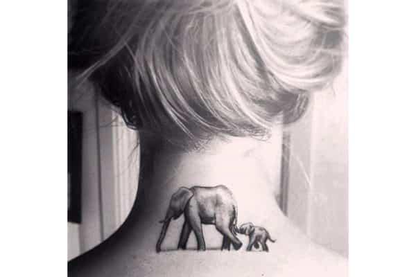 elehant tattoo 6