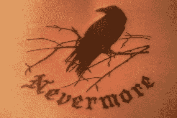 poe raven tattoo ideas 1