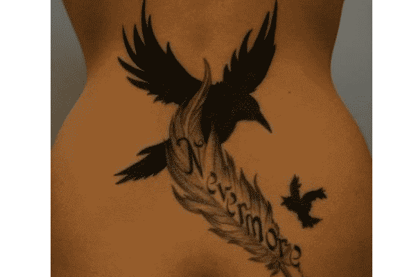 poe raven tattoo ideas 3