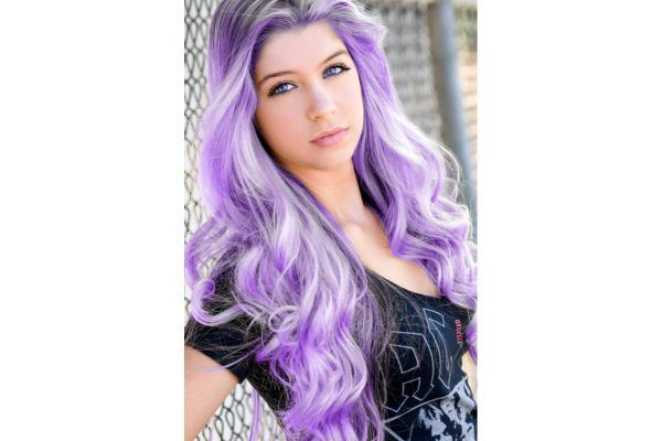 purple hair 14