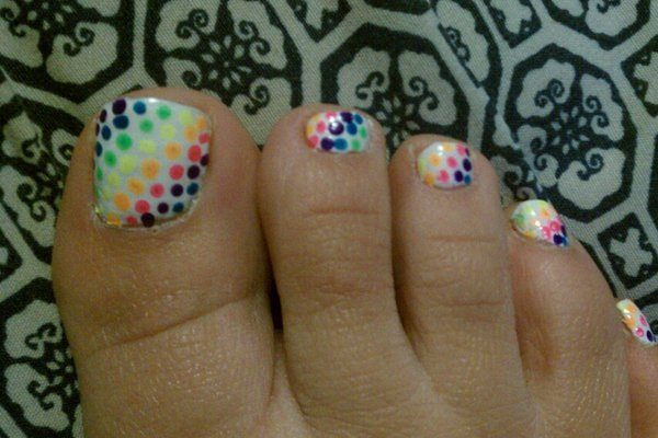 Nail Polish For Summer Toes Hession Hairdressing