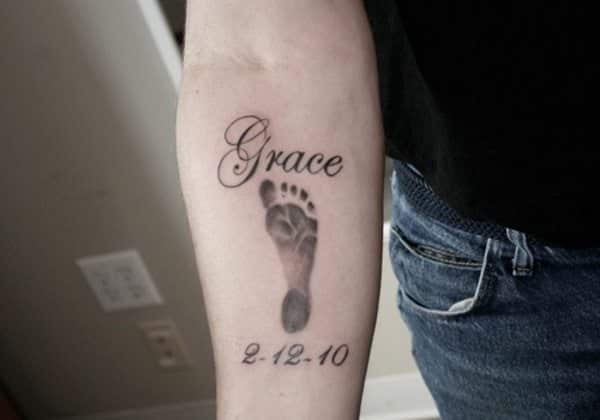 Baby Footprint Tattoo Ideas 26 Sweet Collections Slodive