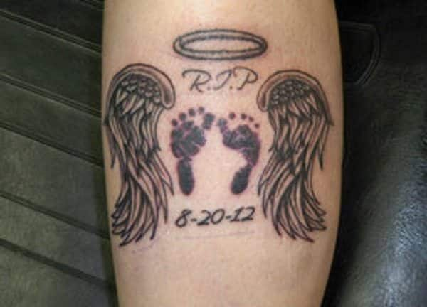 Baby Footprint Tattoo Ideas 26 Sweet Collections Design Press