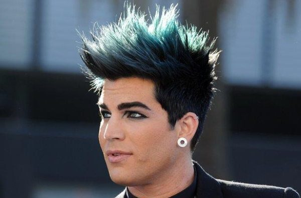 Remarkable 17 Funky Examples Of Blue Hair For Guys Hairstyles For Women Draintrainus
