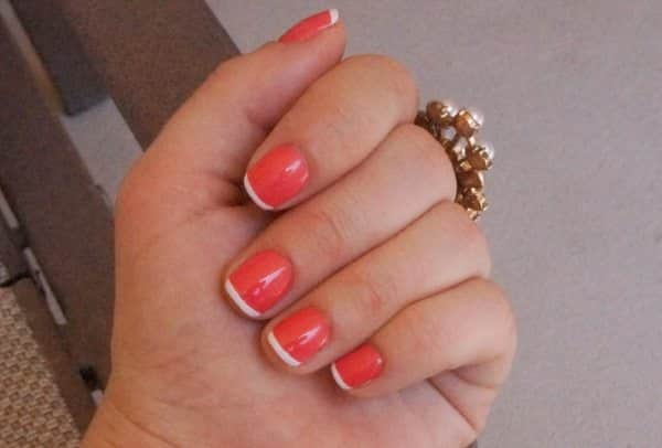 12 Refreshing Colored French Tips for Summer
