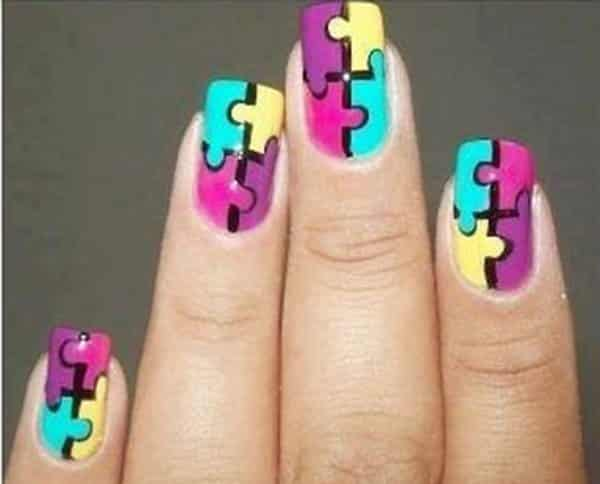 - 23 Playful And Cute Nail Art Designs