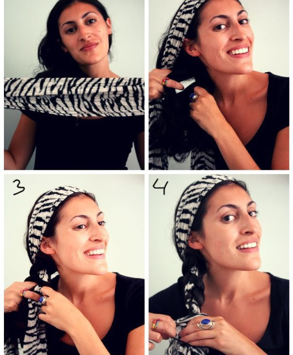 Incredible 12 Ways To Wear A Scarf In Hair Styled Different Ways Hairstyle Inspiration Daily Dogsangcom