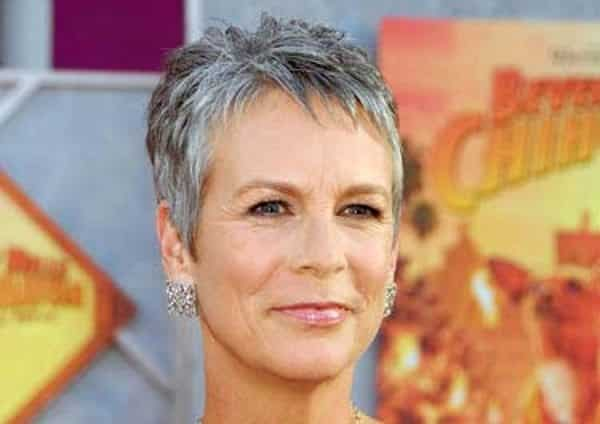 Image result for sexy women with short grey hair