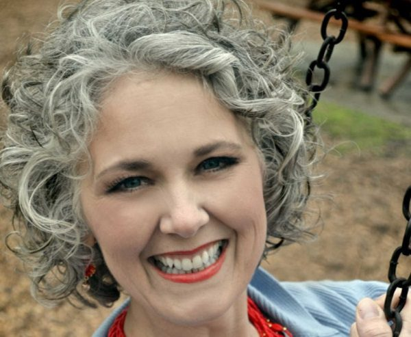 Short Curly Hairstyles For Grey Hair