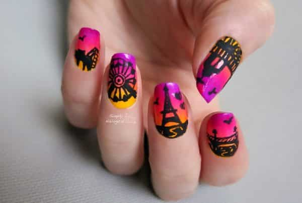 fair nail art designs