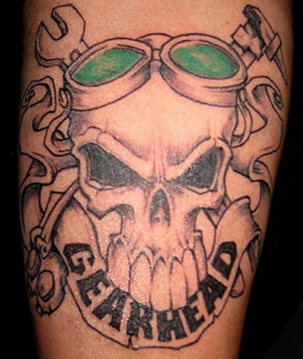 mechanic tattoo image source - Tattoo Design Ideas