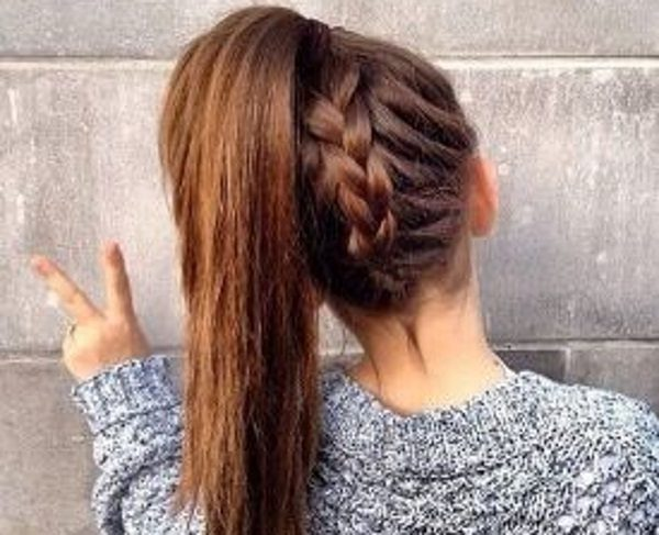 new ways to wear a ponytail
