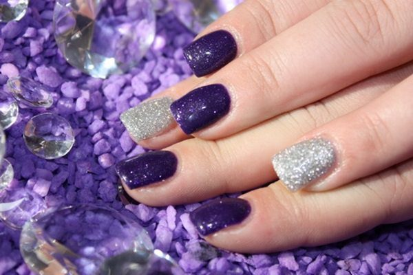 30 Pretty in Purple Nail Art Designs