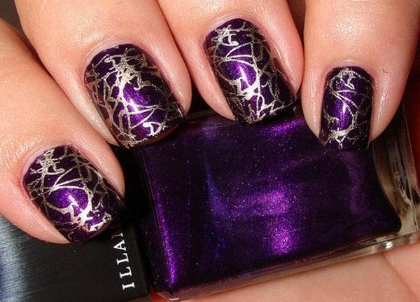 30 pretty in purple nail art designs purple nail art designs prinsesfo Choice Image