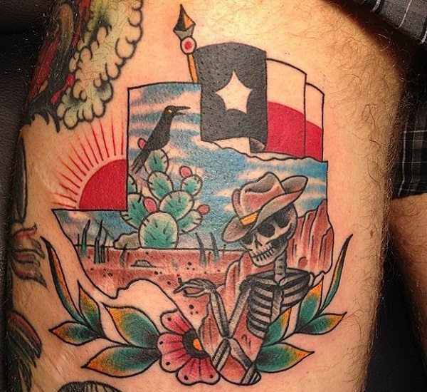texas tattoo