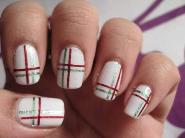 16 superb striping tape nail art designs striping tape nail art prinsesfo Image collections